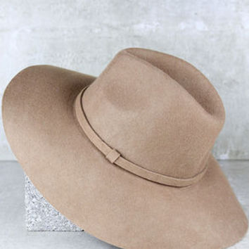 Wishing on a Star Tan Fedora Hat