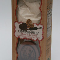 Gingerhaus -House on the Hill Snowman Gingerbread Cookie Press (Mold) Kit
