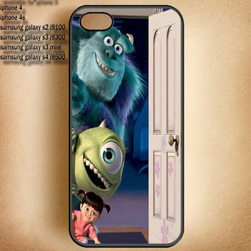 Monster inc-IPhone 4,IPhone 4S,IPhone 5-Samsung Galaxy S2 i9100,Samsung S3 i9300,Samsung S4 i9500 Case-B11613-8