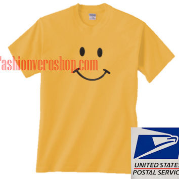 Smiley Face Unisex adult T shirt