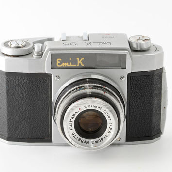 Vintage Emi K 35 35mm Film Camera - Working 1950s