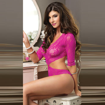 Hot Deal Cute On Sale Ladies Lace Bikini Dress Sexy Exotic Lingerie [6596489795]