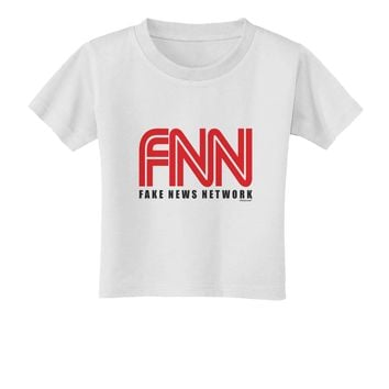 Fake News Network Funny Toddler T-Shirt by TooLoud