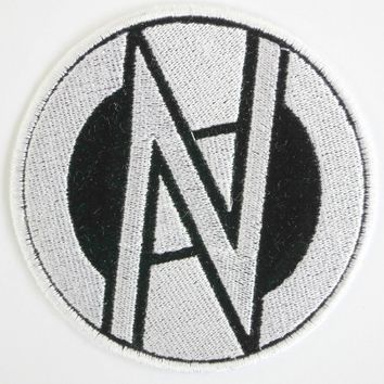 "CONFLICT Logo Anarchy Punk Sew On Embroidered Patch 3.5""/9cm"