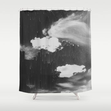 Cloudy Daze Shower Curtain by Ducky B