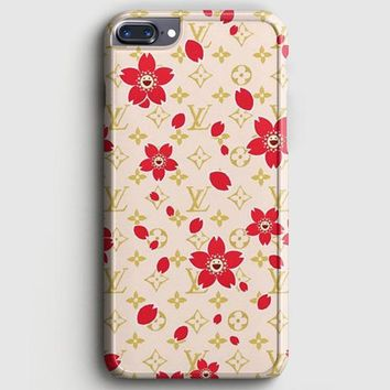 Louis Vuitton Flower Pattern iPhone 8 Plus Case | casescraft