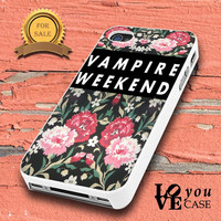Vampire Weekend Flower (2)  for iphone, ipod, samsung galaxy, HTC and Nexus PHONE CASE