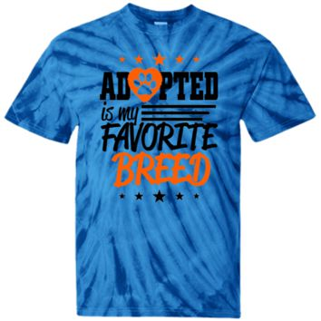 Adopted - CD100Y Youth Tie Dye T-Shirt