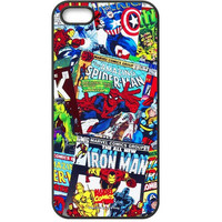 Anymode Marvel Comics Avengers Comics Hard Case for Apple iPhone 5 / 5s / SE