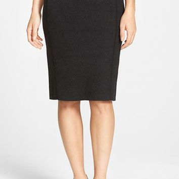Women's Eileen Fisher Stretch Wool Blend Pencil Skirt,