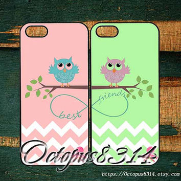 Best friends,in pair two pcs,iphone 5S case,iPhone 5C case,iPhone 5 case,iPhone 4 case,iPhone 4S case,iPod 4 case,iPod 5 case