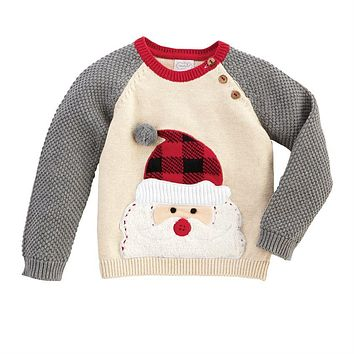MUD PIE ALPINE SANTA SWEATER