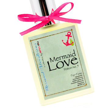 Mermaid Love Potion No.5 Fragrance Oil Based Perfume 1oz