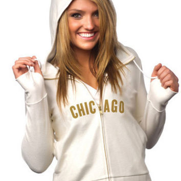 "Chicago Bears Women's Official NFL ""PlayAction"" Hoodie"