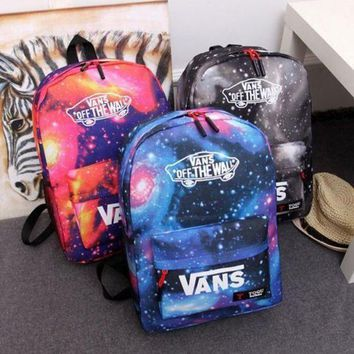 ESBC8S VANS Galaxy Casual School Shoulder Bag Satchel Laptop Bookbag Backpack