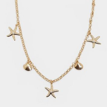 Good as Gold Dainty Shell Necklace