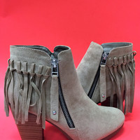 My Kinda Flair Bootie in Beige