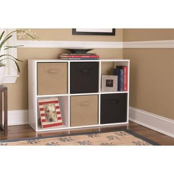 Altra 6-cube Storage Unit Resort Cherry - Walmart.com