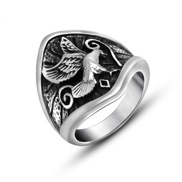 New Arrival Stylish Jewelry Gift Shiny Accessory Titanium Vintage Ring [6544881539]