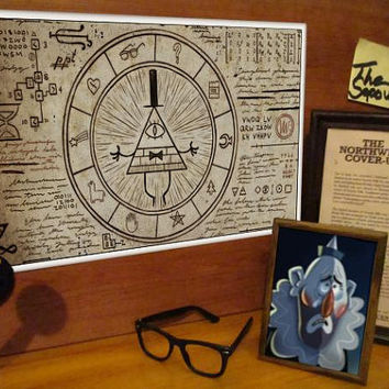 Custom Gravity Falls Prints
