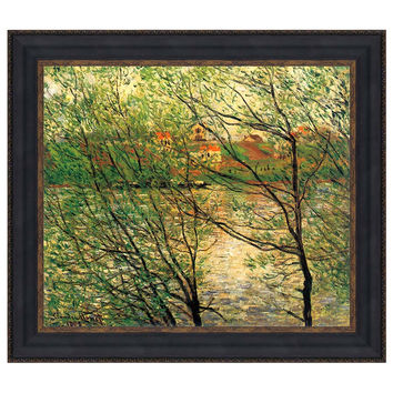 Park Avenue Collection 34.5X30 Banks Of The Seine 1878