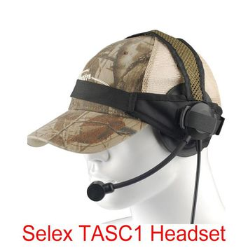 Z-TAC Selex TASC1 Headset with Military Standard Plug Tactical headsets(Z 028)