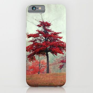 rosso iPhone & iPod Case by Claudia Drossert