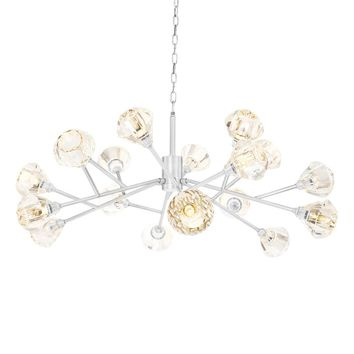 Nickel Chandelier | Eichholtz Fango