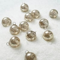 Frosted Orbs Ornament Set