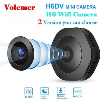 Volemer H6 DV/Wifi Micro Night Vision Camera with motion Sensor