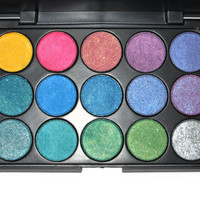 Bright Lights Pressed Powder Mineral Eye Shadow Palette