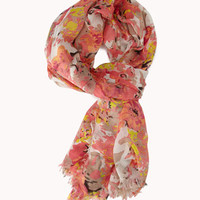 Abstract Floral Scarf | FOREVER 21 - 1060189457