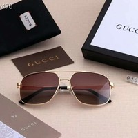 GUCCI new tide brand big box men and women driving polarized sunglasses #4