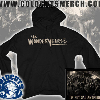 "Cold Cuts Merch - The Wonder Years ""Not Sad Anymore"" Hoodie"