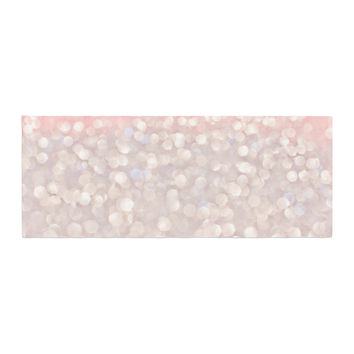 "Debbra Obertanec ""Magical"" Pink Glitter Bed Runner"
