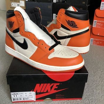 ONETOW Air Jordan 1 Retro High OG Reverse Shattered Backboard Size 11 DS 100% Authentic