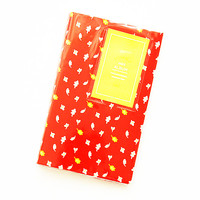 Kawaii Photo Album Fujifilm Instax Mini Film Holders Name Card Holder Red Leaves