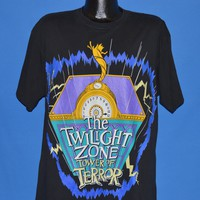 90s Disney Twilight Zone Tower of Terror t-shirt Extra Large