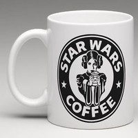 Starbucks Star Wars Inspired Princess Leia 11oz. Coffee Mug Tea Cup Gift