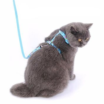 Cat cotton Chest Strap Leashes