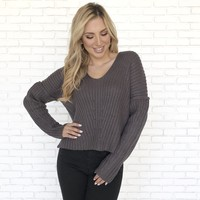 Cuddle Up To Me Knit Sweater