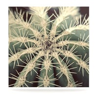 """Angie Turner """"Cactus"""" Plant Luxe Square Panel"""