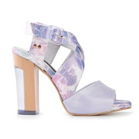 Miista Patterned Strap Sandals