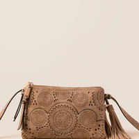 Cindy Perforated Crossbody