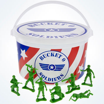 Disney Parks Pixar Toy Story Bucket O Soldiers 72 Complete New