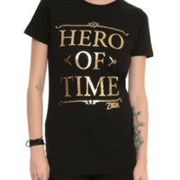 The Legend Of Zelda Hero Of Time Girls T-Shirt 3XL