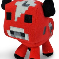 "Minecraft Baby Mooshroom Plush"" Minecraft Animal Plush Series"