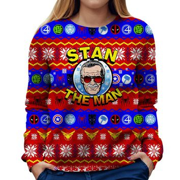 Stan The Man Womens Sweatshirt