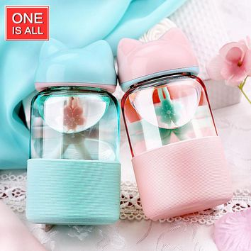 1 Pc Cat Water Bottle, Thermos 4 Colors
