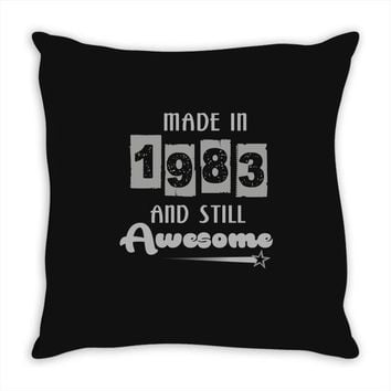 made in 1983 and still awesome Throw Pillow